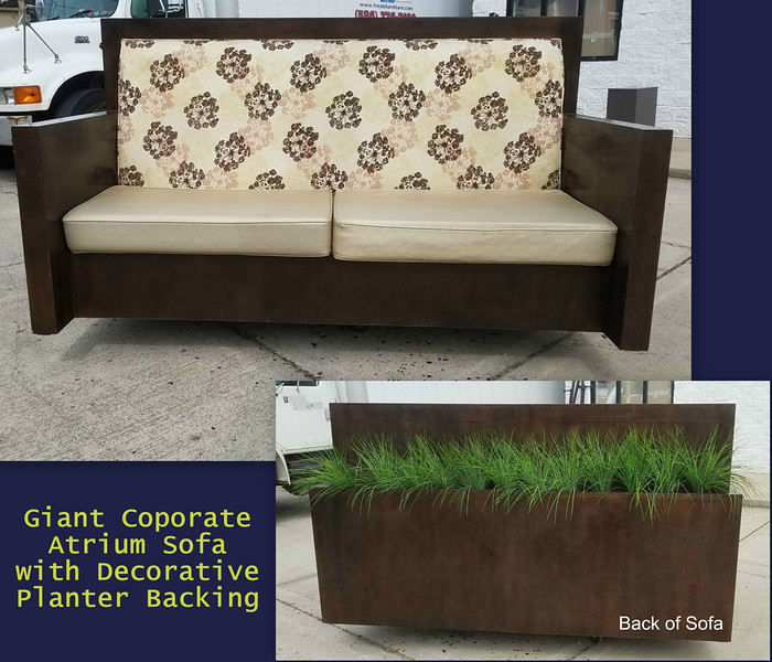 Corporate Atrium Sofa