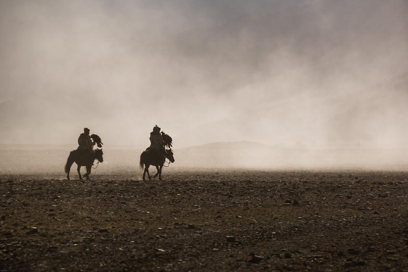 Kazakh Eagle Hunters, Mongolia