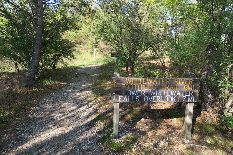 Bad Creek Foothills Trail Access