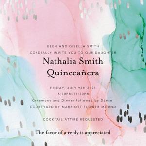 7-9-2021 Nathalia Smith Quinceanera Part 1