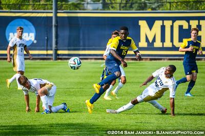 Best of UM Men's Soccer Vs FIU 8-29-14