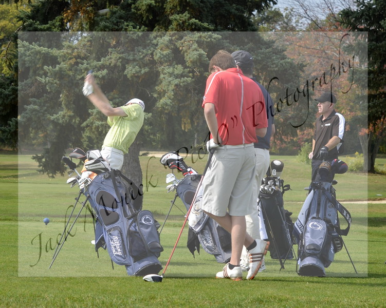 2013 USCAA/PSUAC Golf NEW
