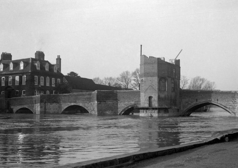 Chapel Bridge, 1929