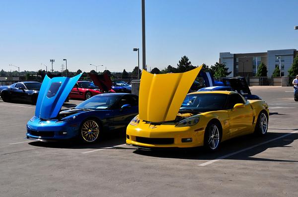 Childrens Hospital Corvettes