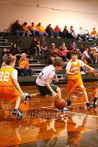 Jr. High Boys vs Mineola, Jan. 22, 2009