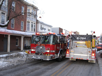 Stove Fire, 323 West Broad St, Tamaqua (2-11-2010)