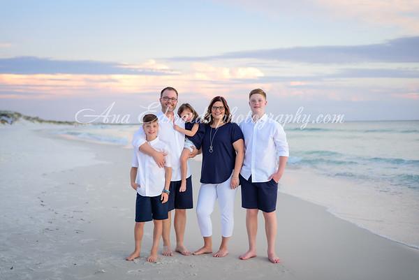 The Bennett family  |  Panama City Beach