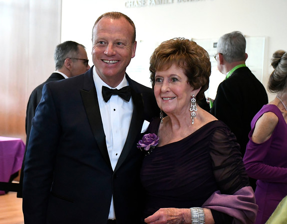 5/5/2018 Mike Orazzi | Staff Scot Haney and Margaret Lawson during the NBMAA 18th annual spring gala and auction, The Art Party of the Year, held Saturday night in New Britain.