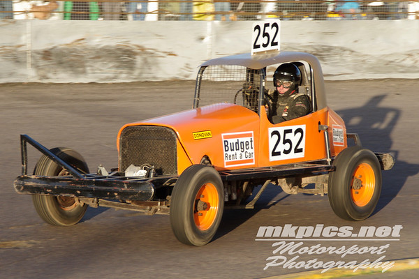 F1 Historic Stock Cars, Northampton,  29 October