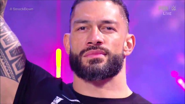 Roman Reigns - Screencaps / SD Live Jan 8, 2021