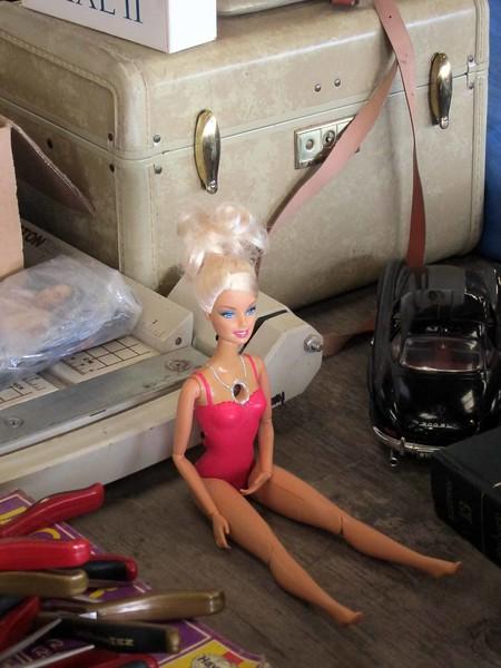 Video cameraed Barbie