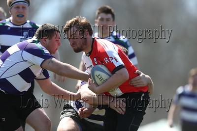 Men's Rugby RPI vs Scranton on 4/16/16