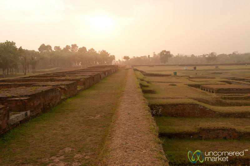 Monastery Rooms at Paharpur - Bangladesh