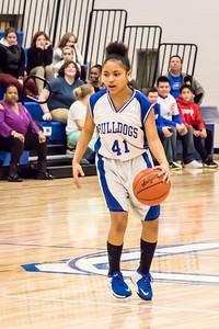 DMS Girls Basketball 01-29-2018