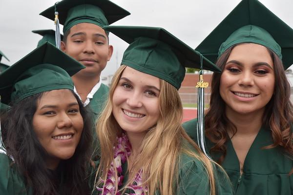 Costa Mesa High School Graduation