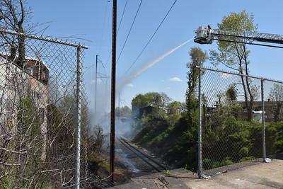 4 alarm fire  Broad & Kerbaugh, -north Philadelphia, PA, -04/21/21