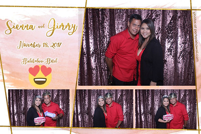 Sienna & Jimmy's Wedding (Vanity Mirror Photo Booth)