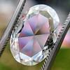 2.32ct Flat Oval Shape Diamond GIA J SI1 20