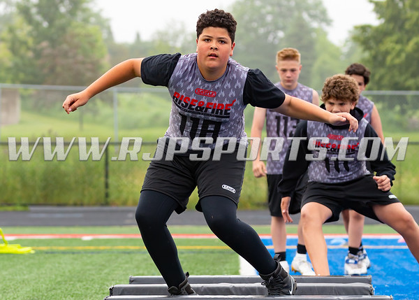 Offensive Lineman, Defensive Lineman [Rise and Fire Chicago Youth 2019]