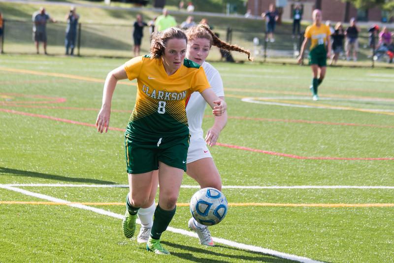 Clarkson Athletics Woman Soccer vs. Utica: Clarkson Win 3 to 1