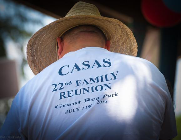 Casas Family Reunion 2012
