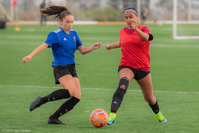CSC Girls vs Reynolds CSE 4-16-2019