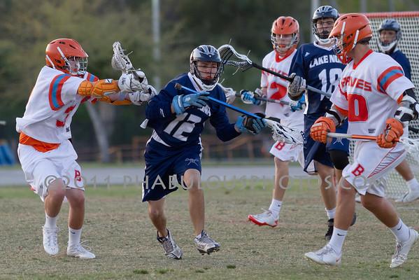 Boone Varsity Lacrosse #32 - 2011