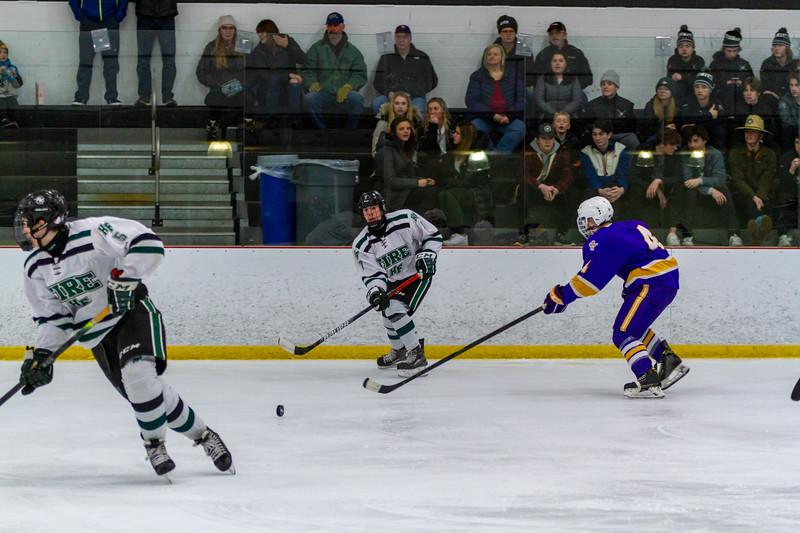Holy Family Boys Varsity Hockey vs. Cloquet - Collin Nawrocki/The Phoenix