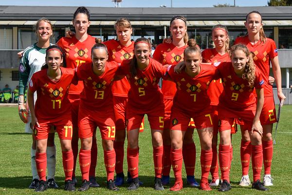 20190830 - Belgian Red Flames U19 - Germany U19