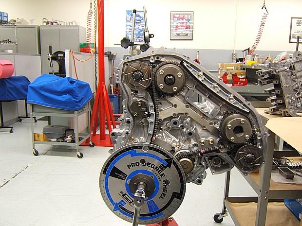 vq35 valve to piston clearance measurement