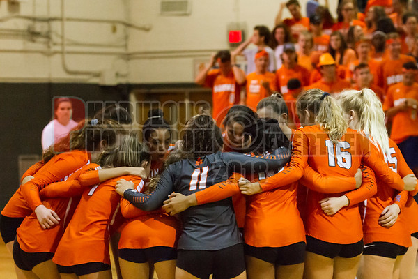 Timber Creek Wolves @ Boone Braves Girls Varsity Volleyball - 2018