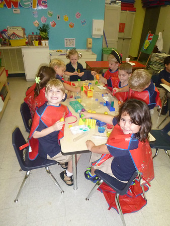 PreK and Kindergarten Science Fridays