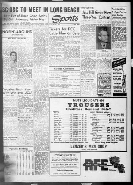 Daily Trojan, Vol. 45, No. 84, March 02, 1954
