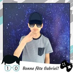 25 mai 2019 - Fête Gabriel 10 ans
