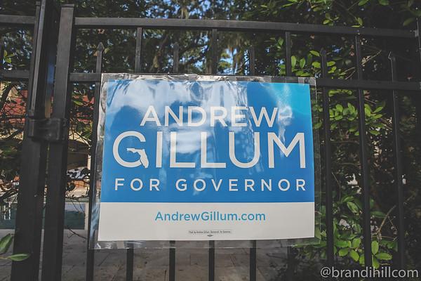 Andrew Gillum for Governor, 2018