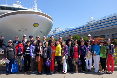 Wine Country Coastal Cruise May 3, 2014 - San Francisco Port Of Call - At Sea - Astoria Port Of Call - 2nd Formal Night