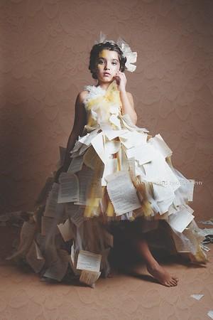 Paper Dress by Dani Geddes