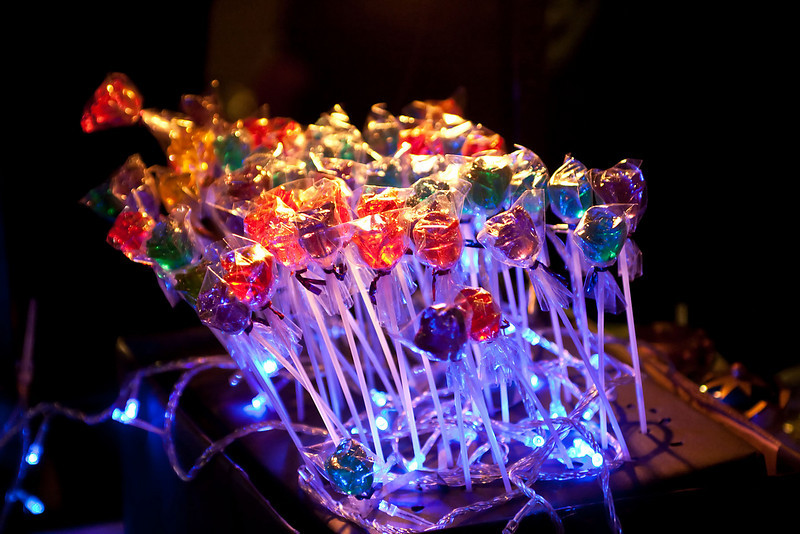 electronic candies