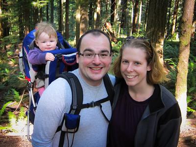 Hiking at Twin Falls