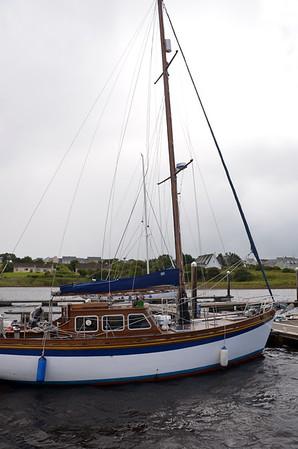 2014-08-21 Andella II departs Kilrusha Marina