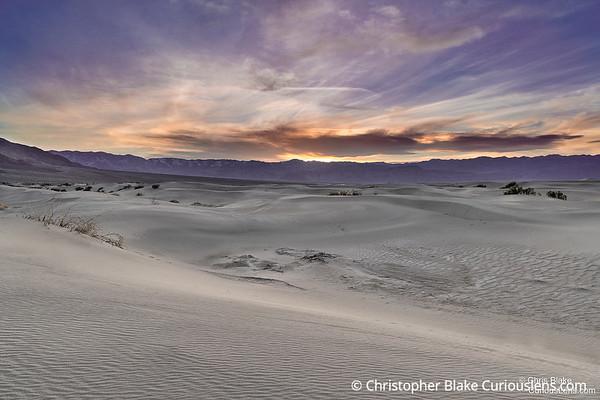 Mesquite Flat Dunes Sunset