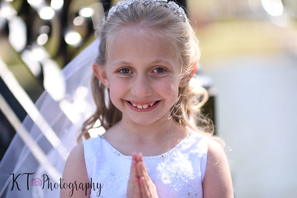 Gabby's First Communion