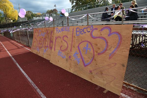 Girls Varsity Soccer 10/14/15