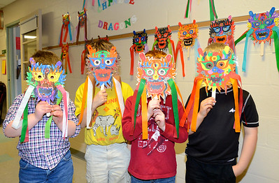 Mrs Wright's Chinese Masks photos by Gary Baker