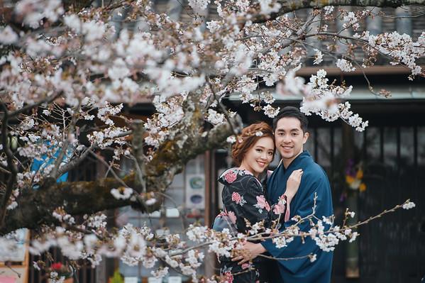 Pre-wedding-Cynthia-日本櫻花