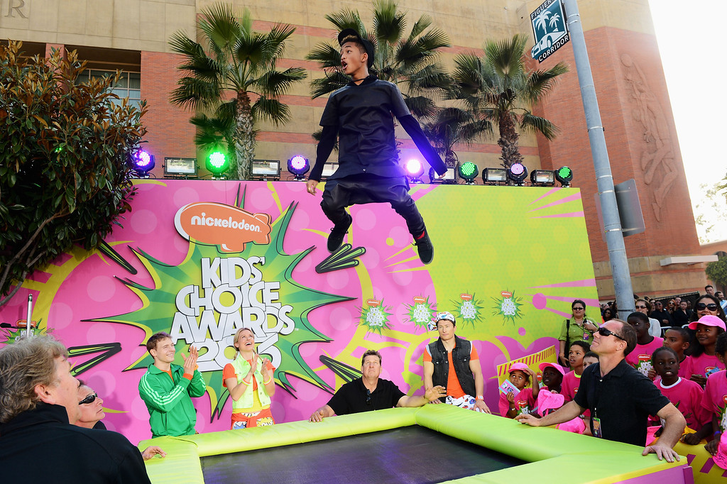 . LOS ANGELES, CA - MARCH 23:  Actor/rapper Jaden Smith attends the Nickelodeon\'s 26th Annual Kids\' Choice Awards at USC Galen Center on March 23, 2013 in Los Angeles, California.  (Photo by Mark Davis/Getty Images for KCA)