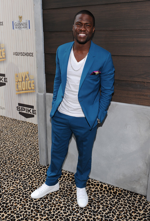 . Kevin Hart arrives at Spike TV\'s Guys Choice Awards at Sony Pictures Studios on Saturday, June 8, 2013, in Culver City, Calif. (Photo by Frank Micelotta/Invision/AP)