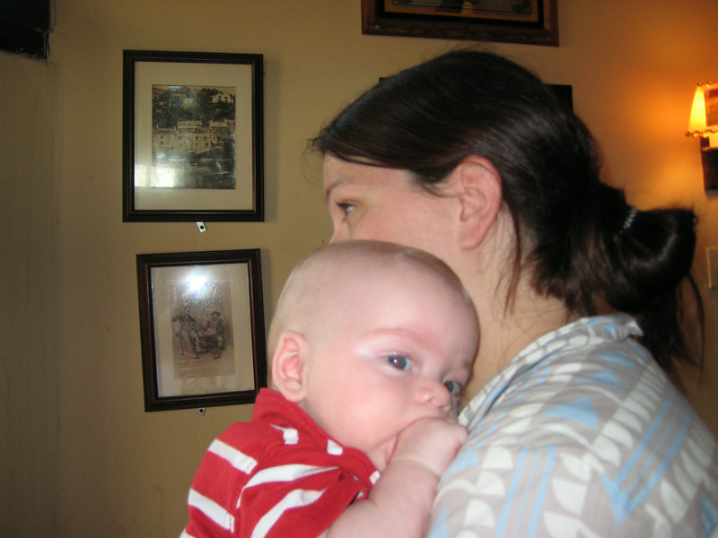 Miles and Mommy