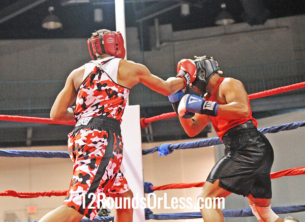 Jimmy Bland (Inner City B.C.) vs Bryan Pegues (United City B.C.)  178 Pounds-Open  Bout # 12