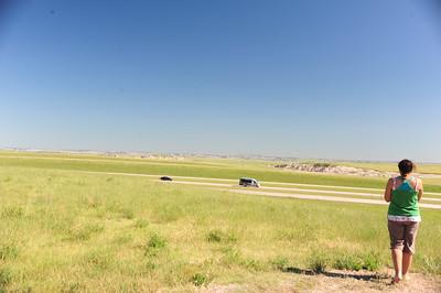 The Bad Lands of South Dakota